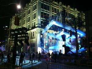 Zweite Bühne des MTV-Events
