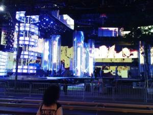 Irgend ein MTV-Event soll hier stattgefunden haben.