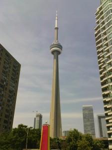 CN-Tower. Ist halt die größte Attraktion hier.