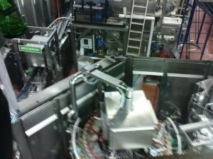 Abfüllanlage der Brauerei
