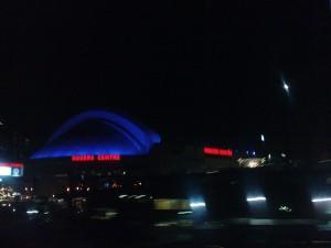 Das Rogers Center bei Nacht
