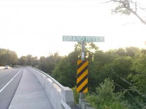 Jetzt weiss ich auch, warum die Verkehrsgesellschaft hier Grand River Transit heisst.